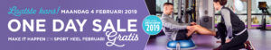 One Day Sale Anytime Fitness